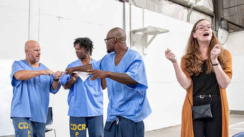 Playwriting at RJ Donovan State Prison - 2018 Sept.