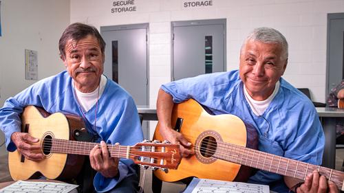 Guitar at Mule Creek State Prison - 2018 July