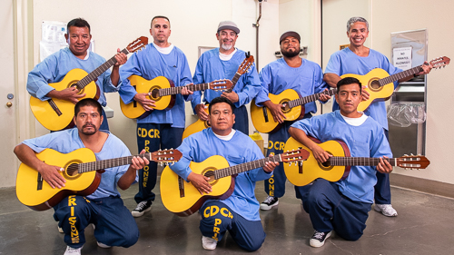 Mexican Guitar at Avenal State Prison - 2018 May