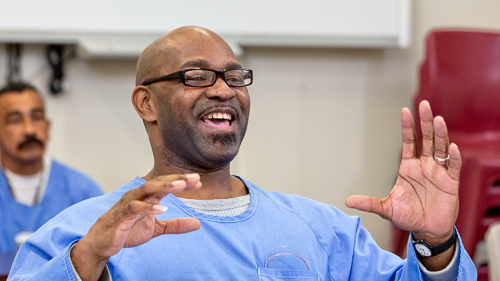 Storytelling at California City Correctional Facility-(afternoon class) - 2018 April