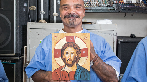 Icon Painting at CSP-Sacramento - 2017 July