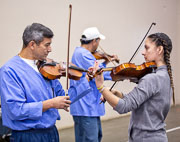 Mariachi band class at Avenal State Prison - 2018 Dec.