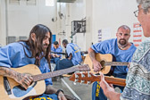 Guitar Class at Corcoran State Prison - 2016 May