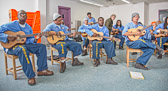 Guitar at High Desert State Prison - 2016 March