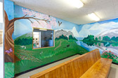 Murals and Paintings at Chino State Prison