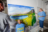 Project PAINT at Donovan State Prison - 2014 Sept.