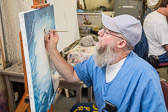 Painting Class at San Quentin State Prison - 2012 June