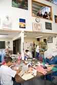 Bookbinding Class at San Quentin State Prison - 2006